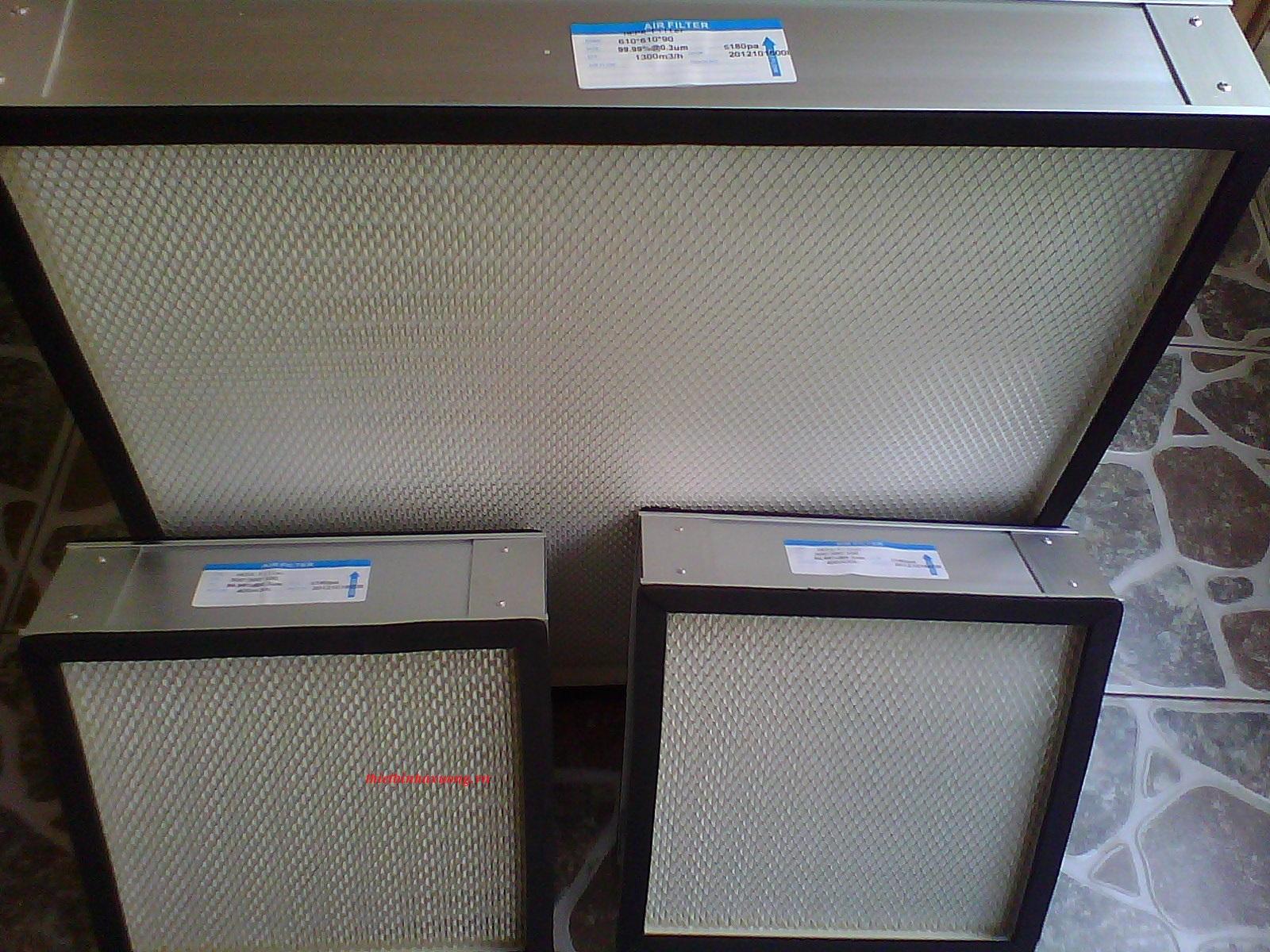 bộ lọc khí phòng sạch FFU