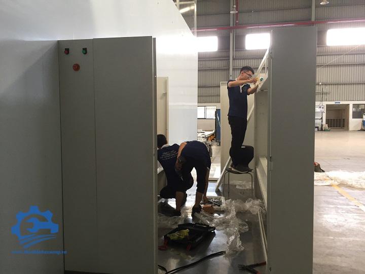 đơn vị chế tạo Air Shower phòng sạch